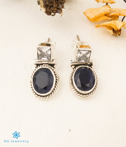 The Ahalya Silver Bracelet (Red/Green)