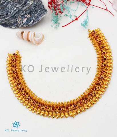 The Madhura Silver Mango Necklace