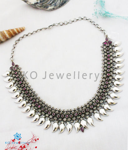 The Manohara Silver Paisley Necklace