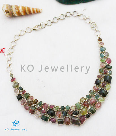 The Silver Tourmaline Necklace