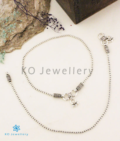 The Gulika Silver Anklets