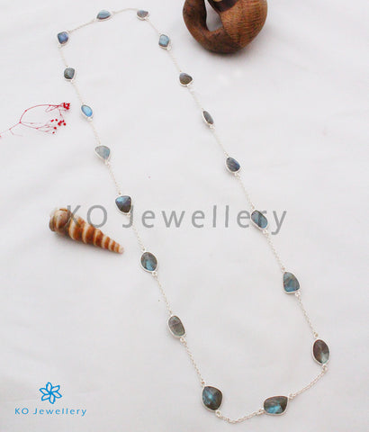 The Silver Labrodorite Necklace