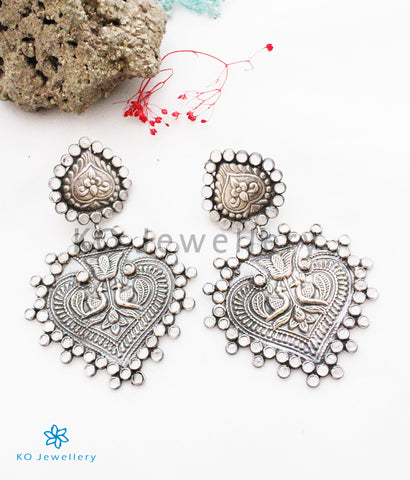 The Nupur Silver Polki Earrings