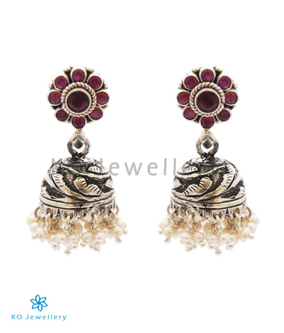 The Swarna Silver Jhumka