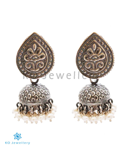 The Sharol Silver Jhumka