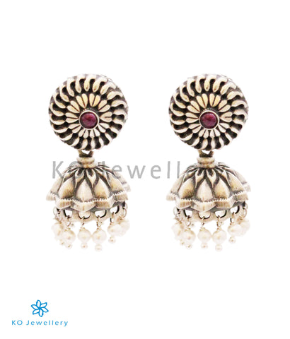 The Vipan Silver Jhumka