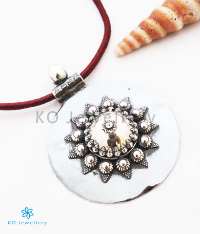The Kavach Silver Pendant