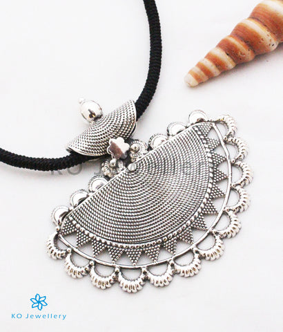 The Ardhapatha Silver Pendant
