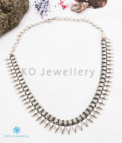 The Utkarsh Silver Necklace