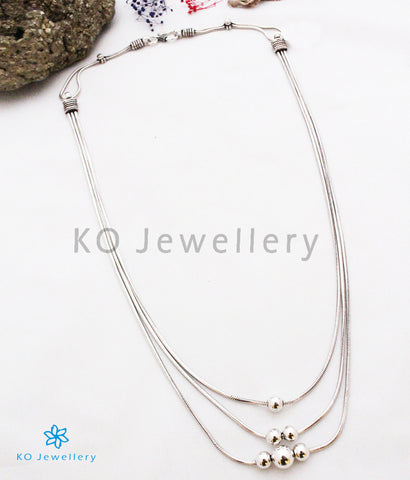 The Dhauta Silver Chain Necklace