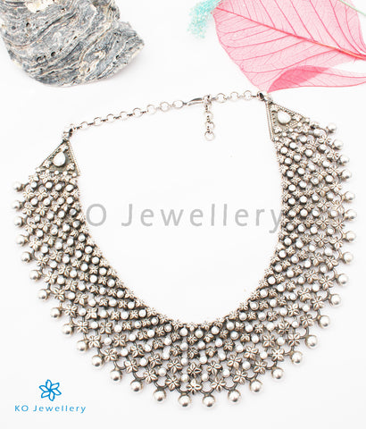 The Amintiri Antique Silver Necklace