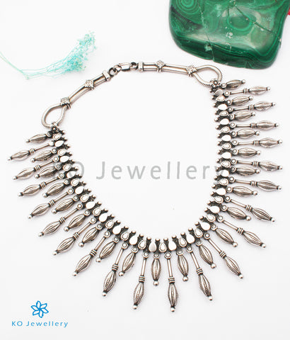 The Ajeya Antique Silver Necklace