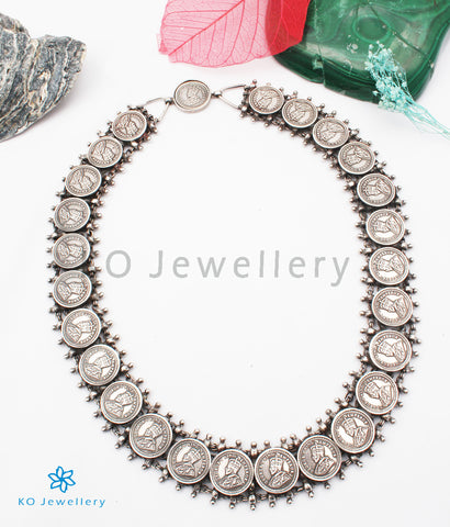 The Niska Antique Silver Coin Necklace