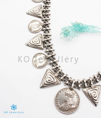 The Pana Antique Silver Coin Necklace