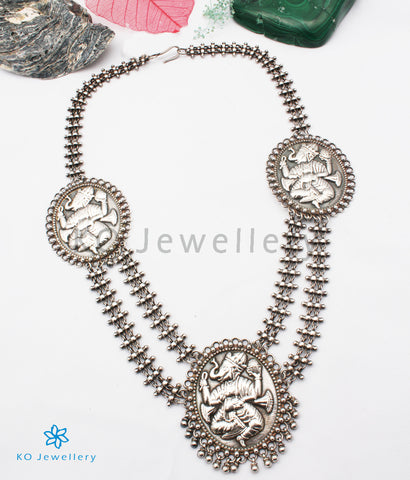 The Eeshan Antique Silver Ganesha Necklace
