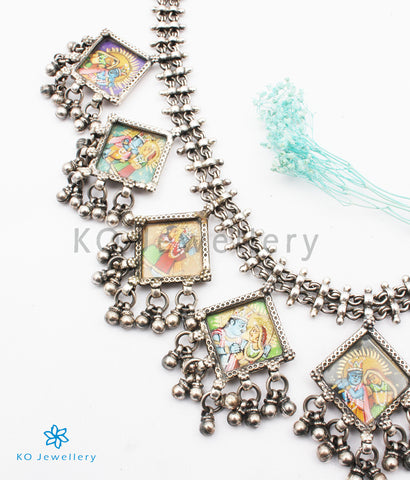 The Rasa-leela Antique Silver Necklace