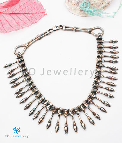 The Lopa Antique Silver Necklace