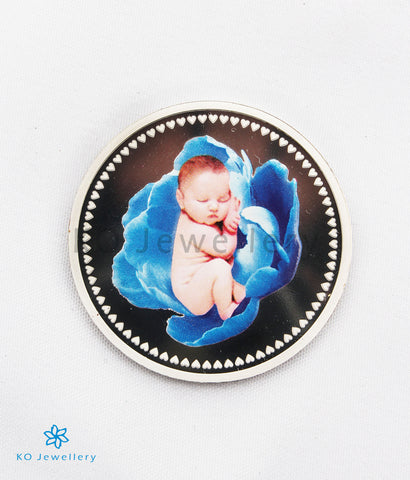 The Blessings Silver Coin for newborns(Boy)