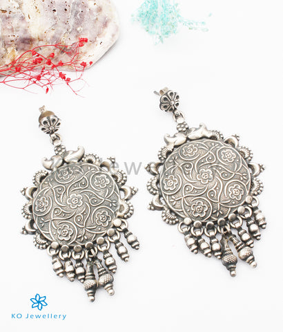 The Nidaka Silver Earrings