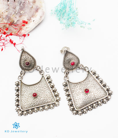 The Azva Silver Earrings