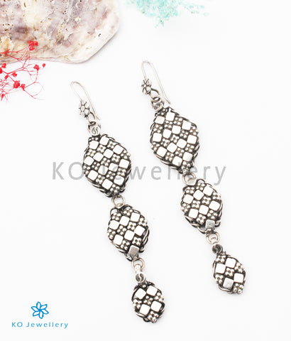 The Ariya Silver Earrings