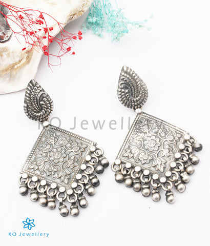 The Adhanika Silver Earrings