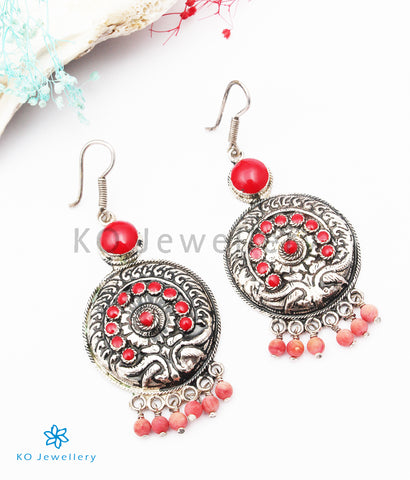 The Tapsi Silver Earrings