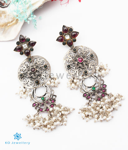 The Jaimini Silver Earrings