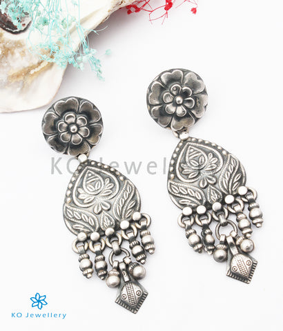 The Mihira Silver Earrings