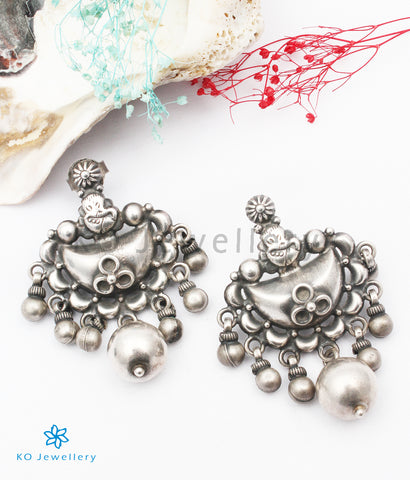 The Anam Silver Earrings