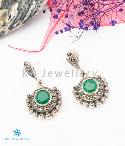 The Ariel Silver Marcasite Earrings