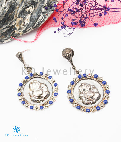 The Kaveesha Silver Marcasite Earrings