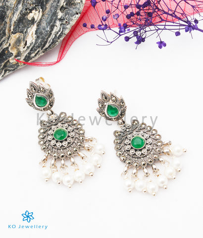 The Thea  Silver Marcasite Earrings