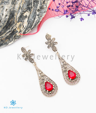 The Kimberly Silver Marcasite Earrings