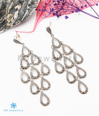 The Isla Silver Marcasite Earrings