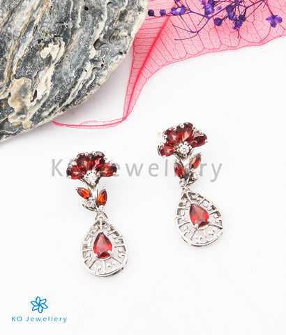 The Angelina Silver Gemstone Earrings