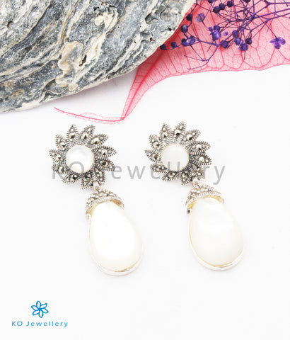 The Grace Silver Marcasite Earrings