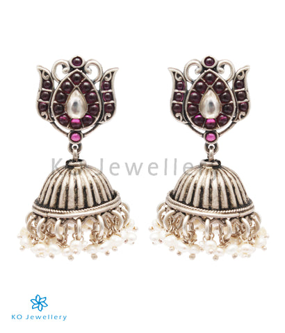 The Keya Silver Kemp Jhumka