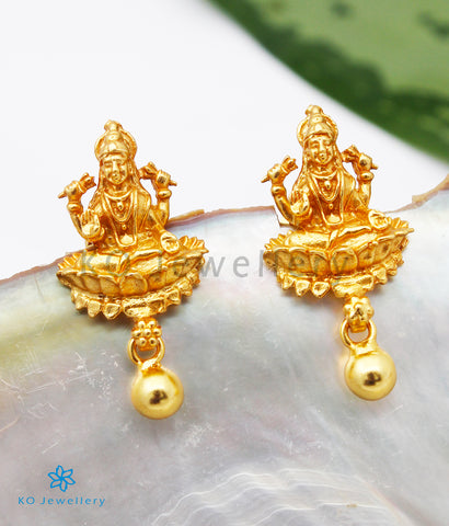 The Devi Silver Lakshmi Earrings