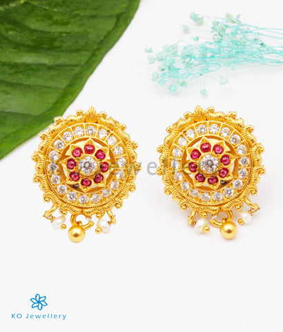 The Manasi Silver Ear-studs