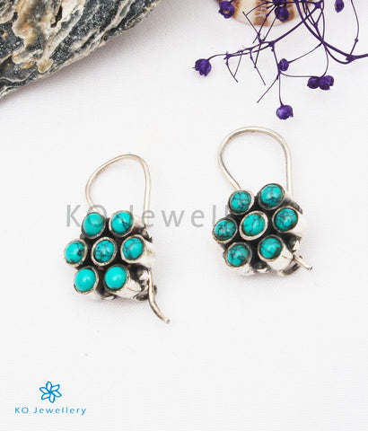 The Ila Silver Gemstone Earrings (Turquoise)