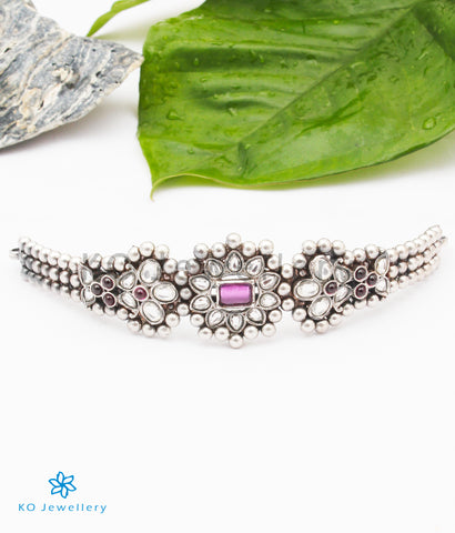 The Mehr Silver Choker Necklace