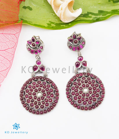 The Sparsh Silver Earrings