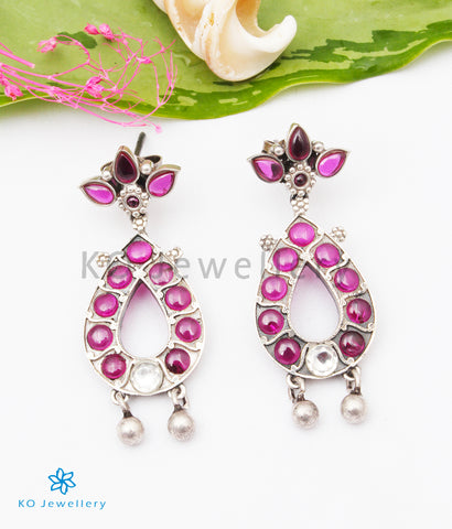 The Anusuya Silver Earrings