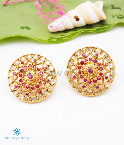 The Harshini Silver Ear-studs