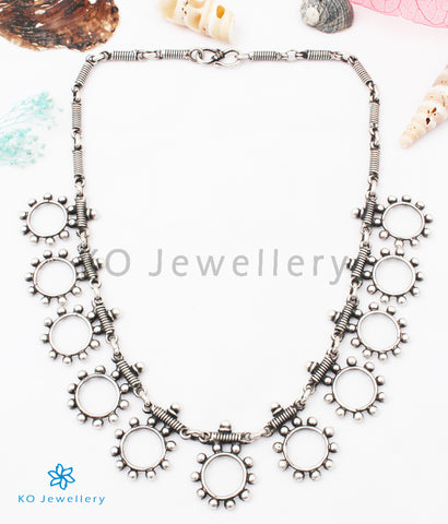 The Parth Silver Tribal Necklace
