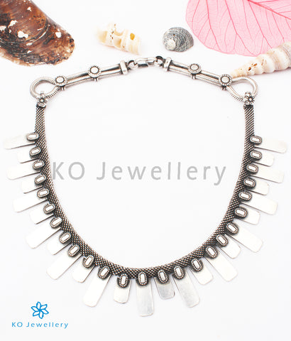 The Divit Silver Tribal Necklace