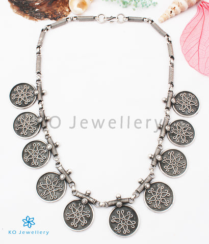 The Praval Silver Tribal Necklace