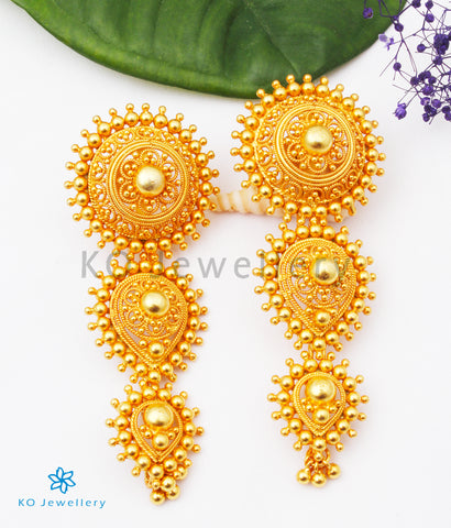 The Anaisha Silver Earrings