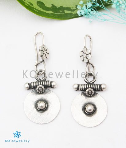 The Chakra Silver Earrings